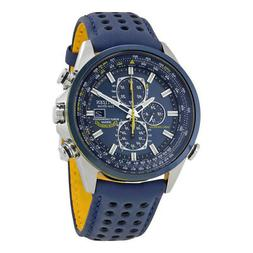Citizen Eco Drive Blue Angels World Chronograph Mens Watch A