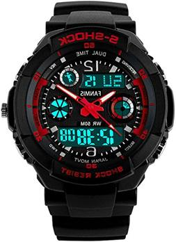 Fanmis S - Shock Military Analog Digital Display Multifuncti