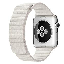 For Apple Watch Band, HP95 Genuine Leather Loop Type Replace