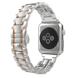 For Apple Watch Band , HP95 Luxurious Solid Stainless Steel