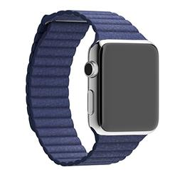 For Apple Watch Band, HP95 Replacement Genuine Leather Loop