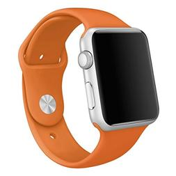 For Apple Watch Band , HP95 Soft Silicone Replacement Sport