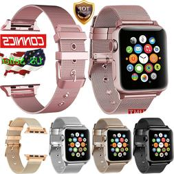 For Apple Watch Buckle Strap Band 38/42mm Series 1 2 3 Stain