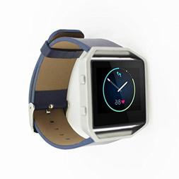 For Fitbit Blaze Accessory Band Large, HP95 PU Leather Watch