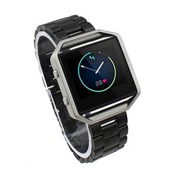 For Fitbit Blaze Accessory Band Small , HP95 Solid Steel Fit