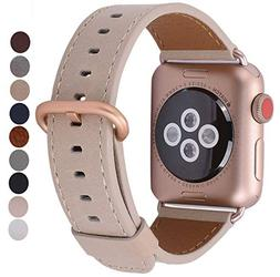 JSGJMY Compatible for Iwatch Band 38mm 40mm S/M Women Genuin