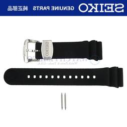 Original Seiko Prospex Turtle Rubber Band Strap + Pins for S