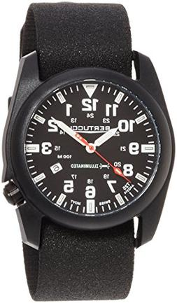 Bertucci A-5P Illuminated Watch Black-Black Tridura Band 135