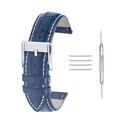 ACUNION™ Replacement Clasp Calfskin Leather Watch Band