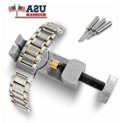 Adjustable Watch Band Bracelet Link 3- Pin Remover Repair Re