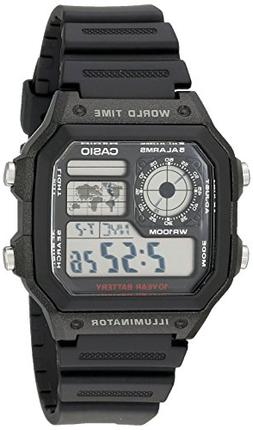 ae1200wh 1a world time multifunction
