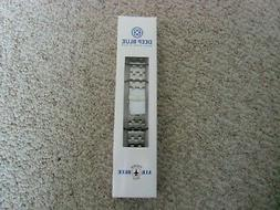 AIR BLUE  SILVER STAINLESS WATCH BAND ONLY. NO WATCH