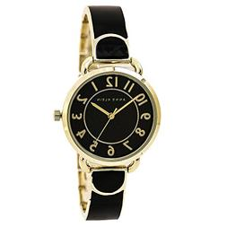 "Anne Klein Women's AK/1606BKGB ""Easy-to-Read"" Bangle Watch"