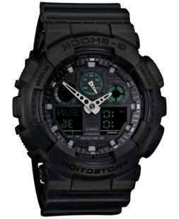 G-Shock Men's Analog-Digital Black Resin Strap Watch 55x52mm