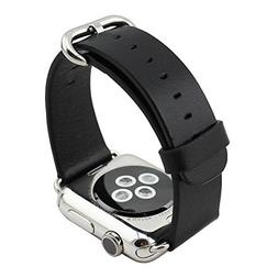 Apple Watch Band, Vaste iWatch Band 42 mm Genuine Leatther A