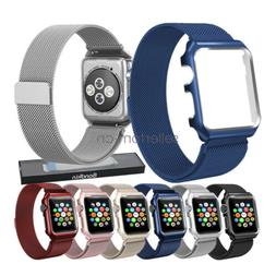 Apple Watch Band 42mm 40mm 44mm 38mm, Stainless Steel Milane