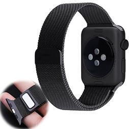 Apple Watch Band, Urvoix 42mm Fully Magnetic Closure Milanes