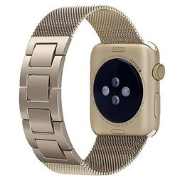 Apple Watch Band, Biaoge Milanese Stainless Steel Band Strap