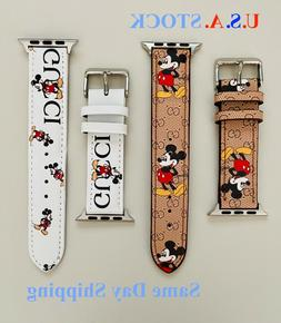 Apple Watch Band Genuine Leather Strap For Series 6 5 4 3 2