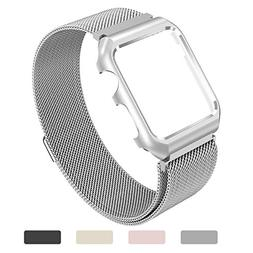 Yometome Apple Watch Band, Fashion Noble Luxury Magnetic Mes