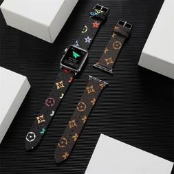 Apple Watch Band Leather Strap For Series 6 5 4 3 2 1 38/40m