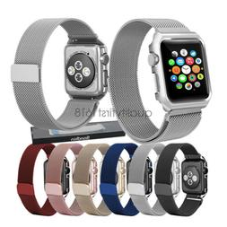 Apple Watch Band with Case, Milanese Stainless Steel  iWatch