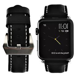 For Apple Watch Replacement Band 42mm Genuine Leather Loop S