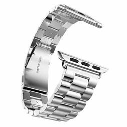 Apple Watch Sport Mens Replacement Band Strap Stainless Stee