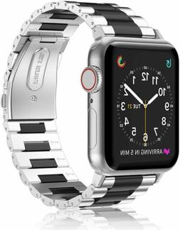 For Apple Watch Series 3 2 1 42mm Stainless Steel Metal Band