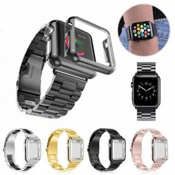 Apple Watch Series 4/3/2/1 Stainless Steel Wrist iWatch Band