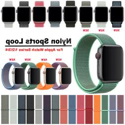 For Apple Watch Series 5/4/3/2 Nylon Sports Loop iWatch Band