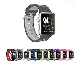 Apple Watch Silicone Replacement Band, Sport Edition by Pant