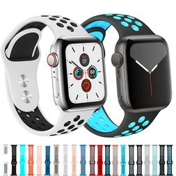For Apple Watch Sport Band Silicone iWatch Series SE1-7 38/4