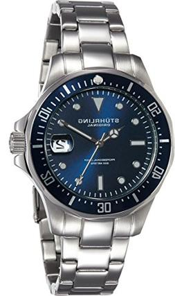 Stuhrling Original Aquadiver Mens Dive Watch - Quartz Analog