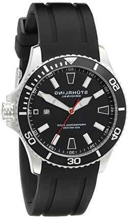 Stuhrling Original Aquadiver Regatta Mens Black Watch - Quar