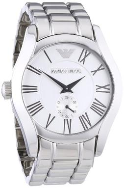 Emporio Armani Men's AR0647 Classic Stainless Steel Silver D