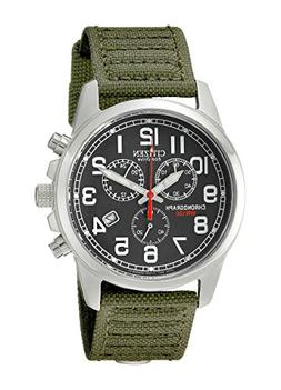Citizen Men's Eco-Drive Chronograph Watch with Date, AT0200-