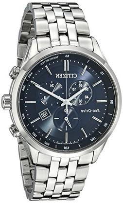 Citizen Men's Eco-Drive Chronograph Stainless Steel Watch wi