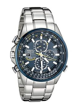 Citizen Men's AT8020-54L Blue Angels Stainless Steel Eco-Dri
