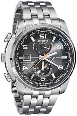 Citizen Men's AT9010-52E World Time A-T Stainless Steel Eco-