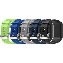 Band For Garmin Vivoactive HR, Soft Silicone Replacement Wat