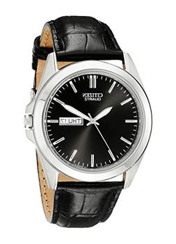 Citizen Men's BF0580-06E Stainless Steel Watch With Black Le