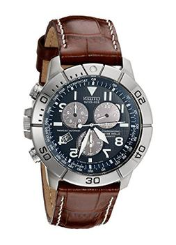 Citizen Men's Eco-Drive Titanium Chronograph Watch with Perp
