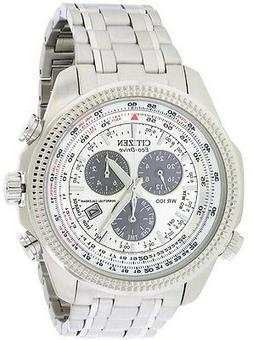 Citizen Men's Eco-Drive Chronograph Watch with Perpetual Cal