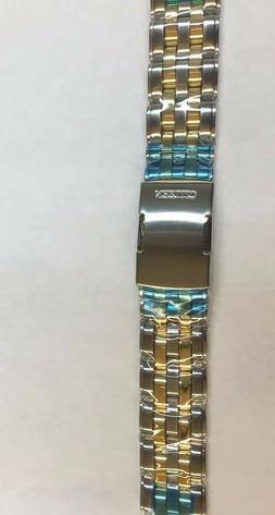 Citizen BL8004-53E Watch Band Stainless Steel Two Tone Brace