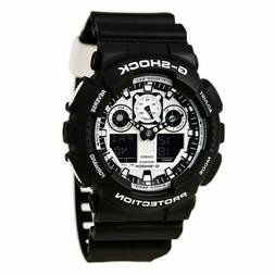 G-Shock® Men's Black and White Analog-Digital Watch