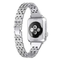 Secbolt Bling Bands Compatible Apple Watch Band 38mm 40mm iW