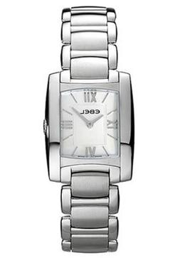 Ebel Brasilia Womens Mother-of-Pearl Dial Stainless Steel Wa