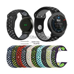 Breathable Soft Silicone Sport Watch Band Strap for Ticwatch