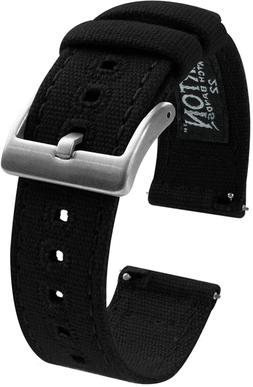 BARTON Watch Bands - Canvas Quick Release Watch Straps - Cho